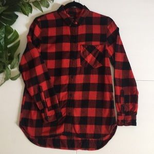 MADEWELL- Flannel - Buffalo Red/Black Checked